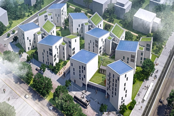 Berlin showcases future living in energy-saving smart city quarter