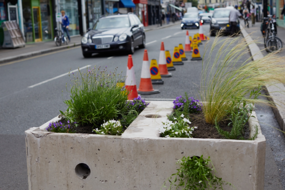Six blocks have been installed in Chiswick by the London Borough of Hounslow