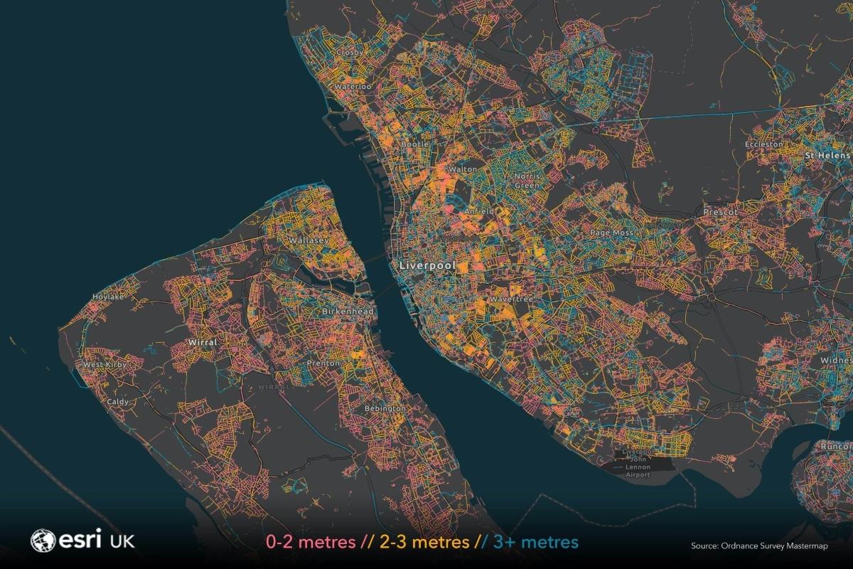 Liverpool map data