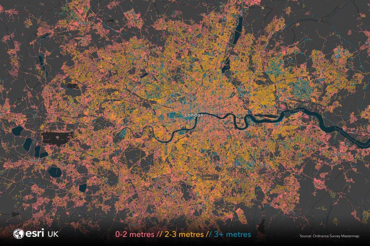 London map data