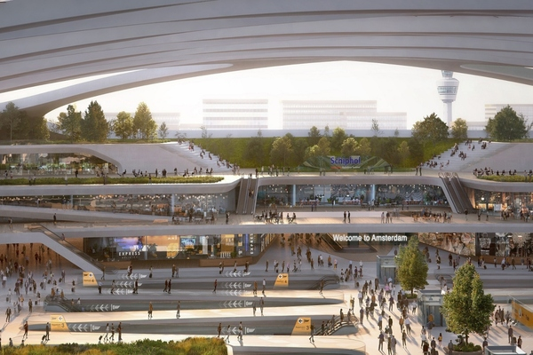 How hyperloop can help to make Schiphol airport a multi-modal hub