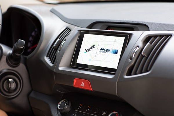 Apcoa and Here announce strategic collaboration around digital parking