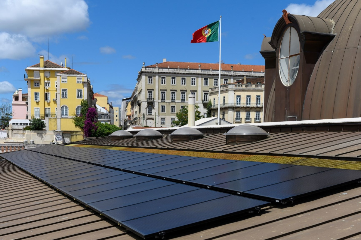 Interventions included a photovoltaic system for local power generation. © Lisbon Municipality