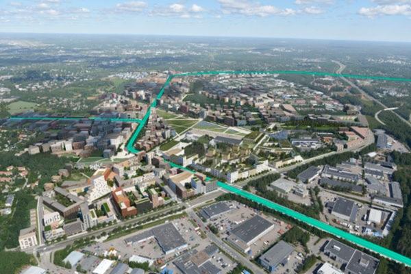New light rail system planned for Helsinki
