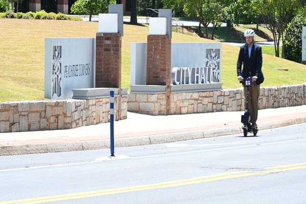 Peachtree Corners launches fleet of teleoperated scooters for public use