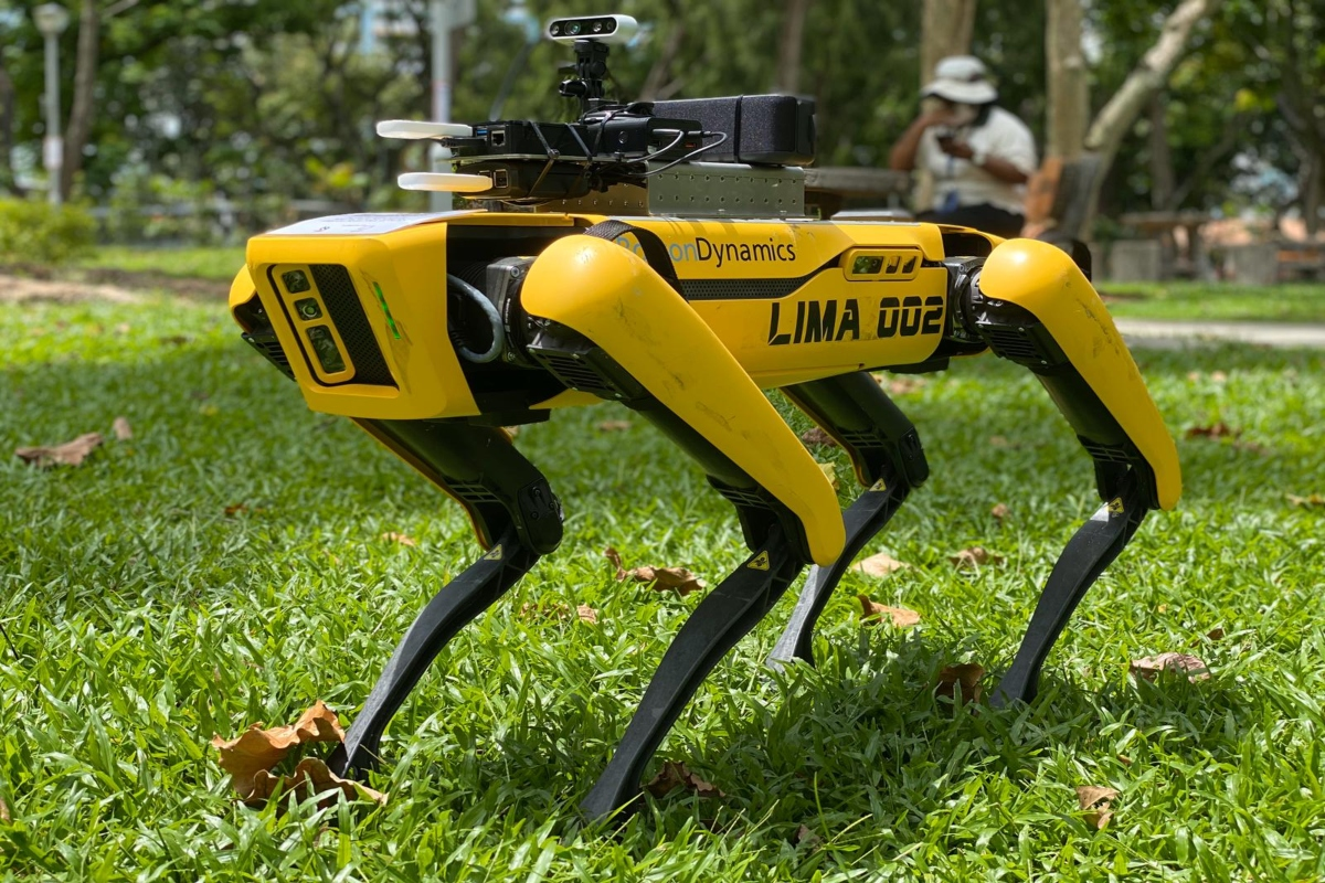Robots can deliver smart policing in the post Covid-19 reality