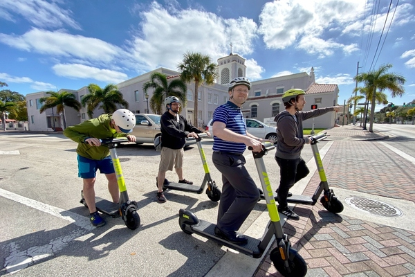 Urban transport experts launch shared micro-mobility division