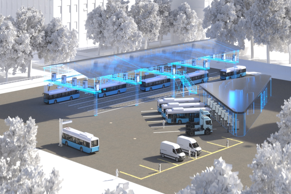 e-bus depots will play an important role in the cities of the future