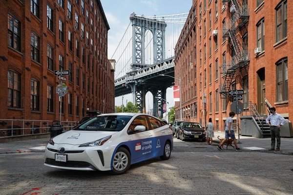 Vehicles map air quality block-by-block in Brooklyn