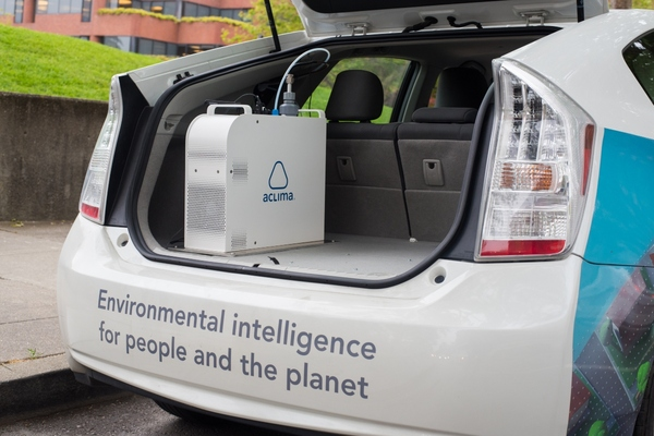 Aclima upfits low or no emissions vehicles with its mobile sensing devices