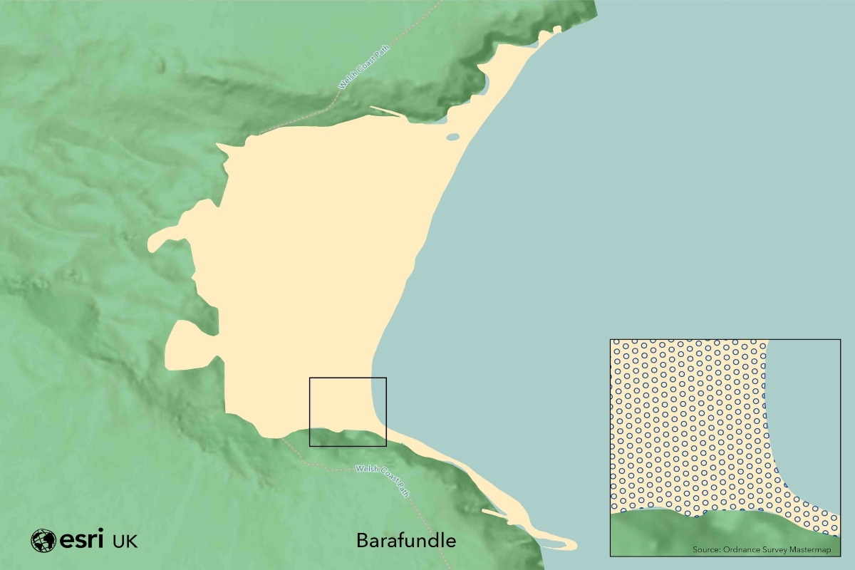 Barafundle beach has space for an estimated 3,246 socially-distanced visitors