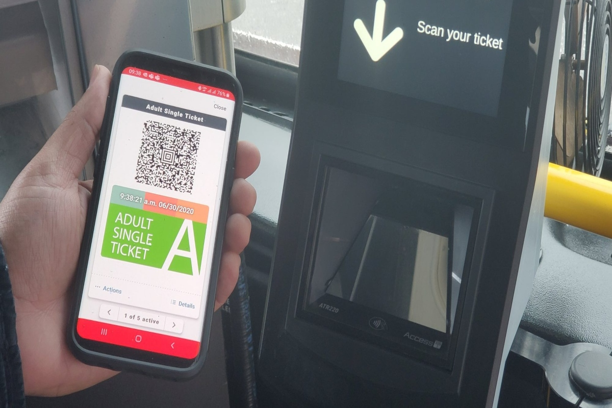 Contactless ticketing is becoming a must-have in the new normal