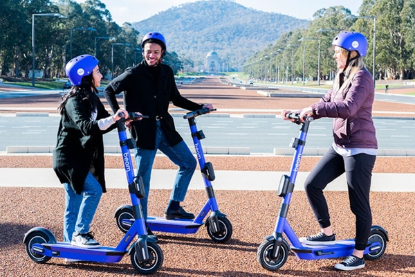 Canberra to launch shared e-scooter scheme