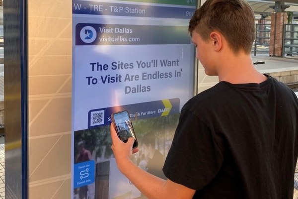 Dallas public transit agency upgrades kiosks to become touchless