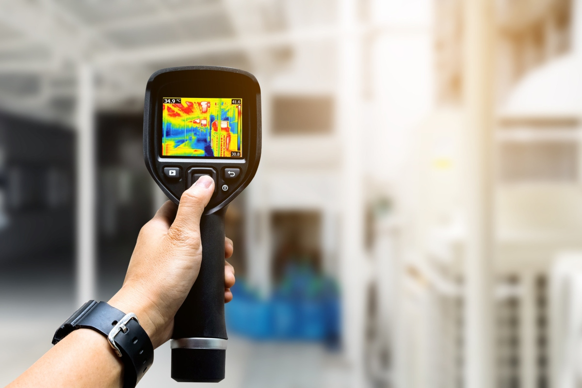 The report covers a range of sensor technology, including thermal imaging