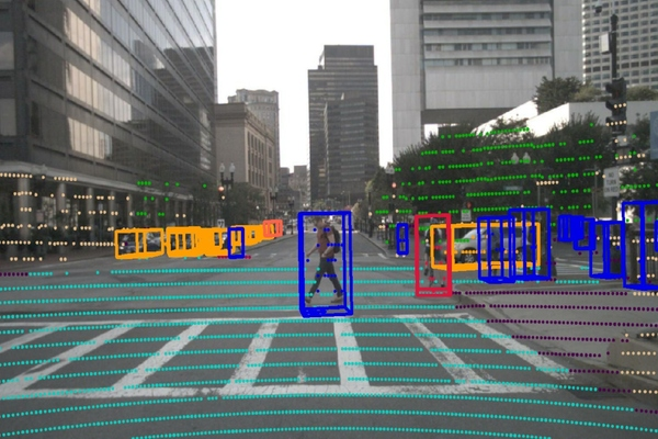 Lidar segmentation provides a significantly more detailed picture of a vehicle's surroundings