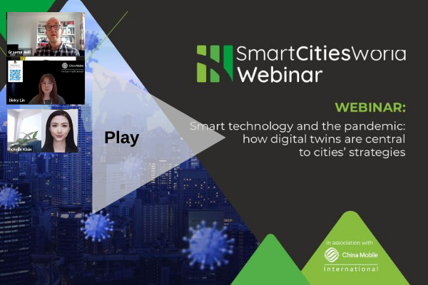 WEBINAR: Smart technology and the pandemic: how digital twins are central to cities' strategies