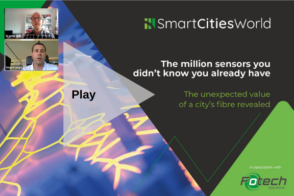 OnDemand WEBINAR: The million sensors you didn't know you already have. The unexpected value of a city's fibre revealed