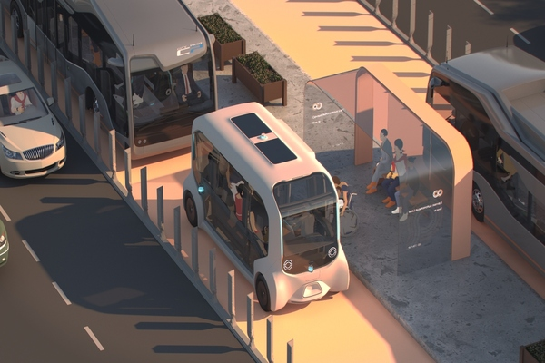 Project allows for a mix of connected and autonomous vehicles, including shared mobility