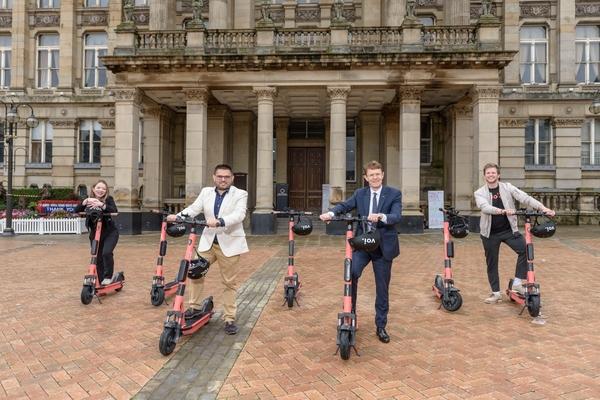 West Midlands announces e-scooter trial