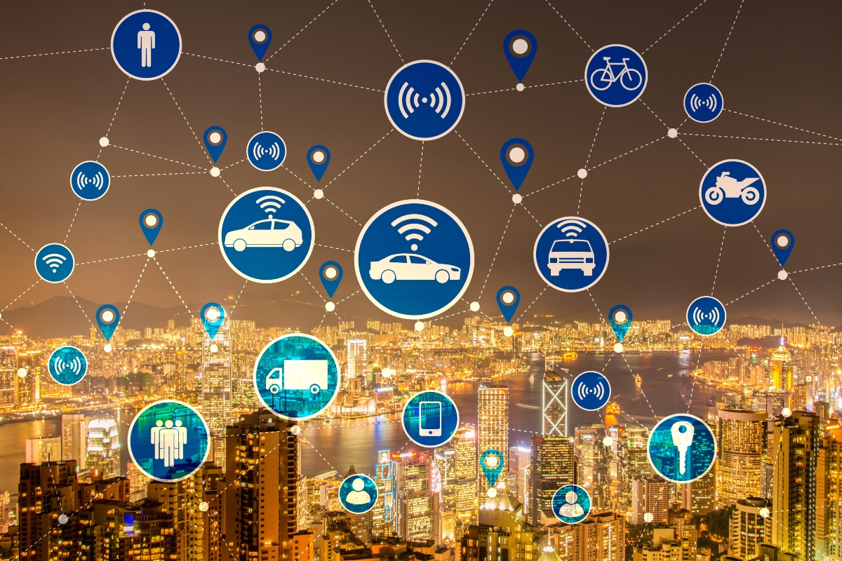 The platform acts as a hub for data from IoT devices embedded in mobility options