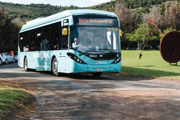 Waiheke Island rolls out Auckland's first electric bus fleet