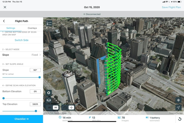 The aim is to streamline current processes from drone management to data analysis