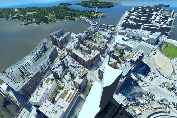 Helsinki established a connected data environment using ProjectWise and OpenCities Planner