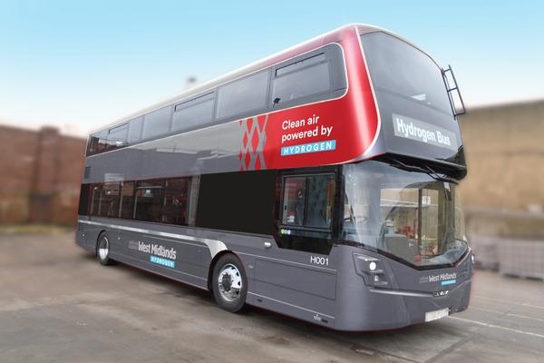 Birmingham announces hydrogen bus pilot