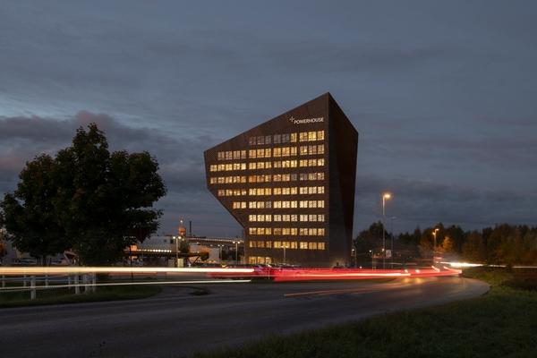 Telemark marks Snøhetta's fourth energy-positive building. Copyright: Ivar Kvaal