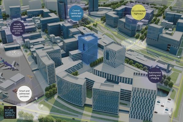 Jaguar Land Rover creates smart city hub testbed