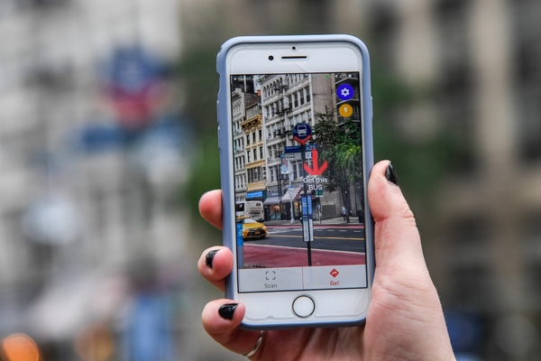 New York pilots smartphone app to assist blind and low-vision bus riders