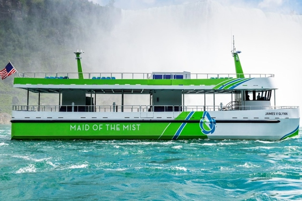 Maid of the Mist launches all-electric ferries at Niagara Falls