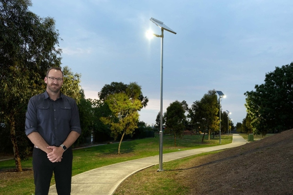 Smart solar lighting deployed at Tampa's master-planned community