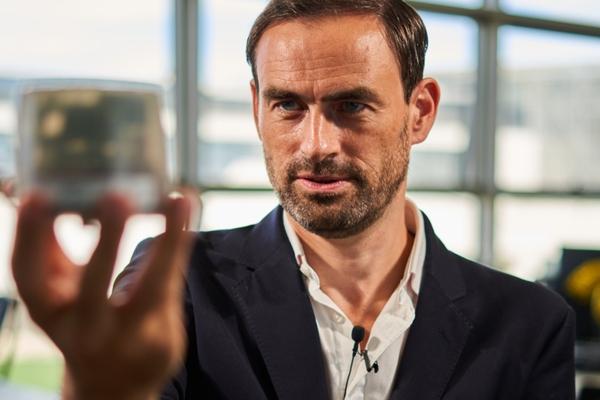 Nicolas Keutgen, CIO Schréder and head of Schréder Hyperion