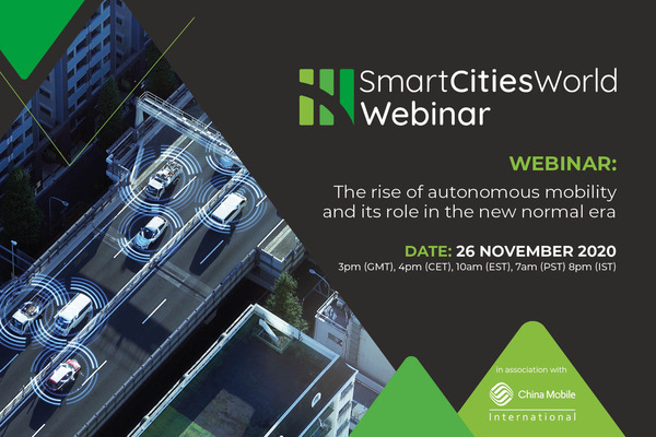 OnDemand WEBINAR: The rise of autonomous mobility and its role in the new normal era