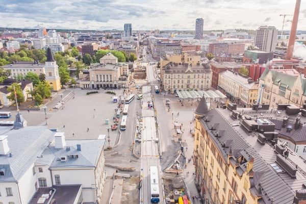Test area for robotic vehicles under development in Tampere