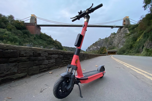 Initially, there will be 100 Voi scooters available to hire in Bristol and 50 in Bath