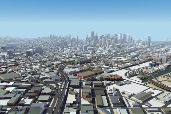 Here unveils 3D city models to build reality-based applications and simulations