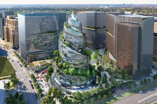"""Amazon reveals """"nature-infused"""" HQ2 in Arlington"""