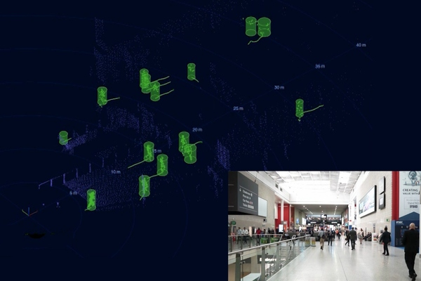 Orlando International Airport uses lidar-based crowd analytics to maximise safety