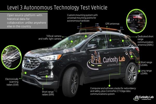 Peachtree Corners invites developers to test autonomous vehicles