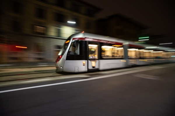 Tram adds to the growing list of battery products being developed by Hitachi
