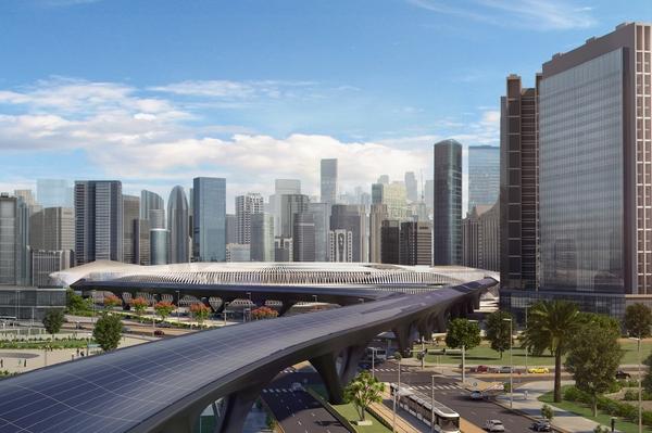 The HyperloopTT station