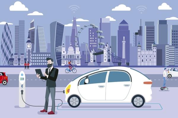London hits electric vehicles charging milestone