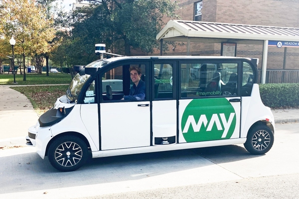 Autonomous mobility company chooses Velodyne's lidar to equip fleet
