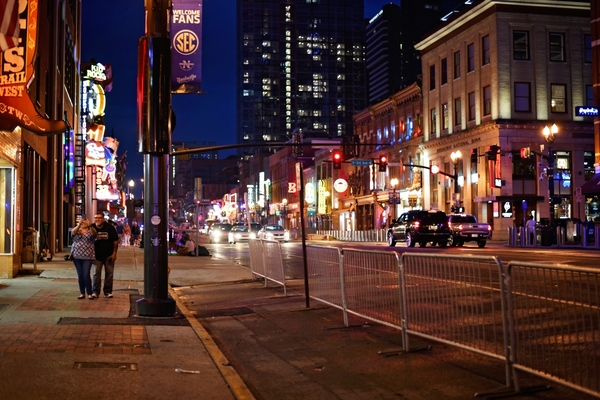 Nashville has one of the most visited downtown areas in the US