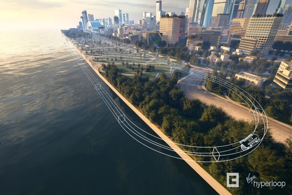 Virgin Hyperloop unveils its vision for the passenger experience of the future