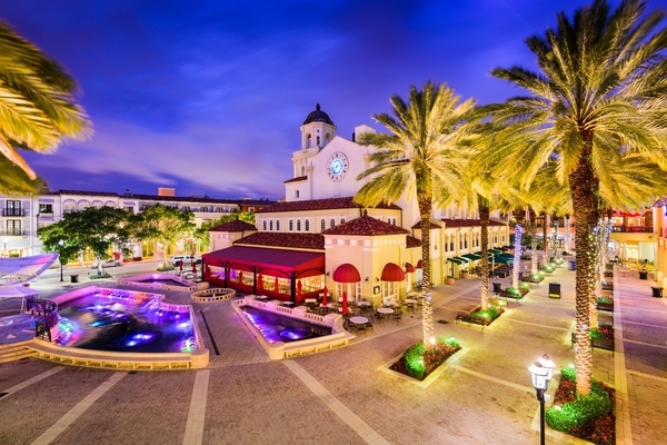West Palm Beach launches downtown kerb management programme