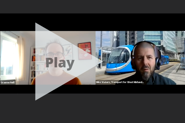 Watch: Accenture and Transport for West Midlands - the future of urban mobility